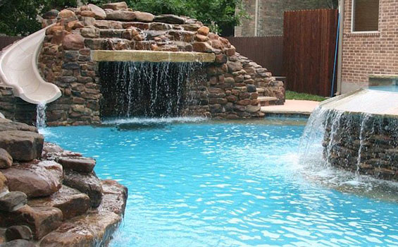 best pool contractors in Highland Village